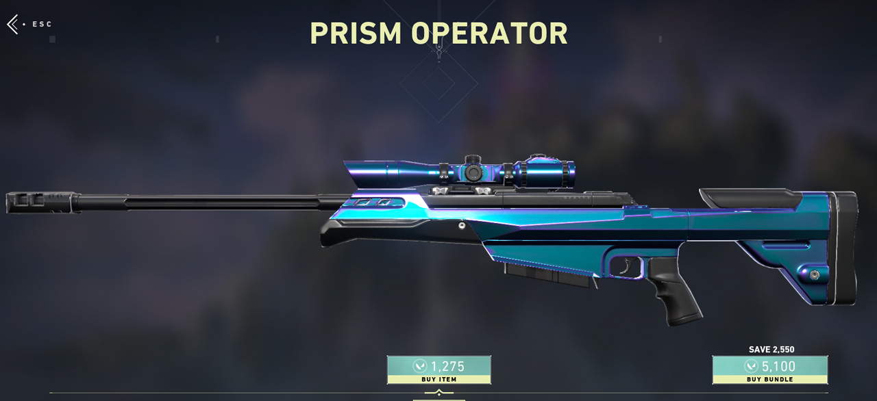 Prism Collection Operator