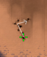 guardian spray pattern - crouched