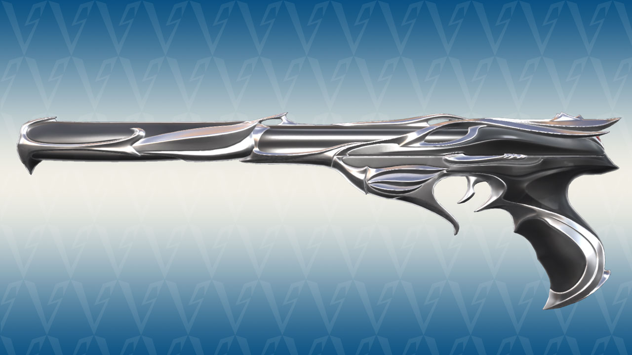 Valorant Sovereign Ghost Silver Variant