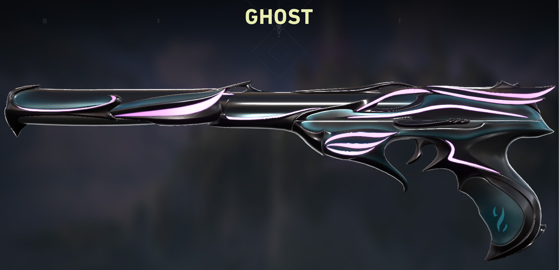 Valorant Sovereign Ghost Skin purple Variant shop