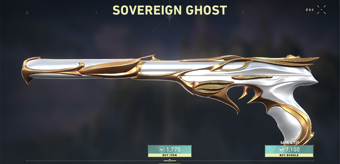 sovereign ghost skin default