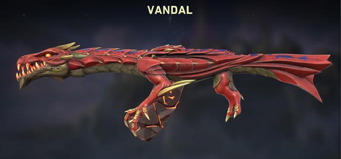 elderflame vandal red variant