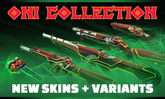 Valorant Oni Skins: Full bundle