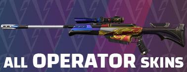 Valorant skins - operator