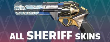 Valorant skins - sheriff