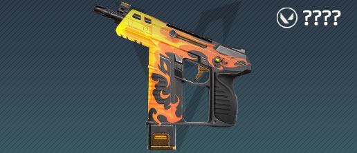 valorant frenzy skins: spitfire