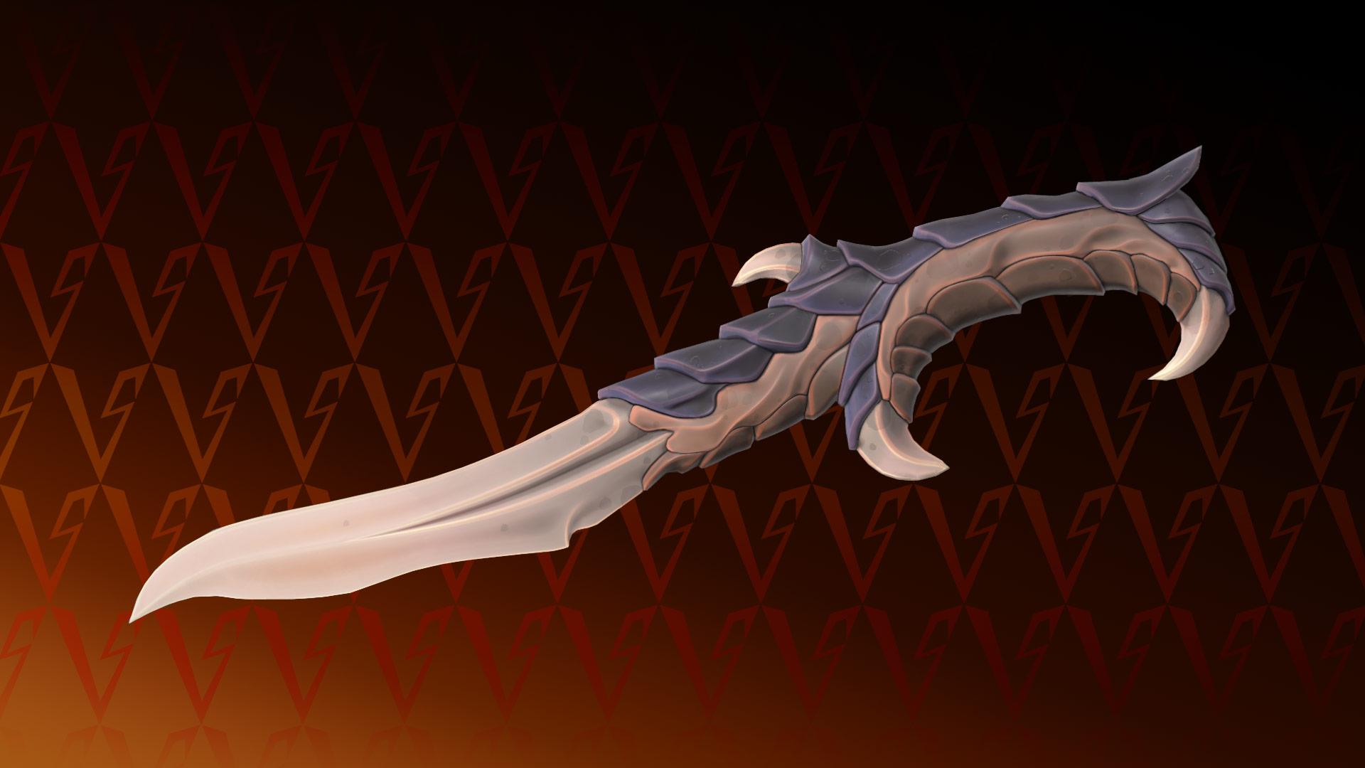 Valorant Elderflame knife