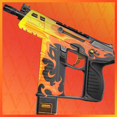 valorant skins - spitfire frenzy
