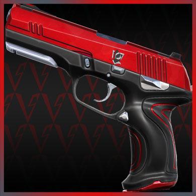 valorant skins red alert classic