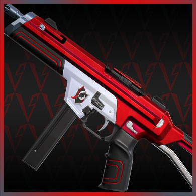 valorant skins red alert stinger