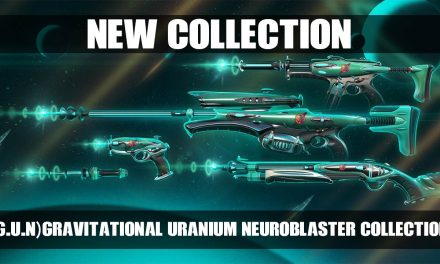 "New: Valorant Gravitational Uranium Neroblaster  – ""G.U.N"" Skin Collection"