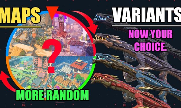 Pick the Skin Variant you want + More Map Variation