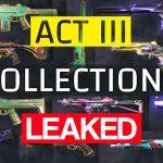 Valorant Act 3 Skins: Ruin, Jade, Electroflux + Singularity Bundle