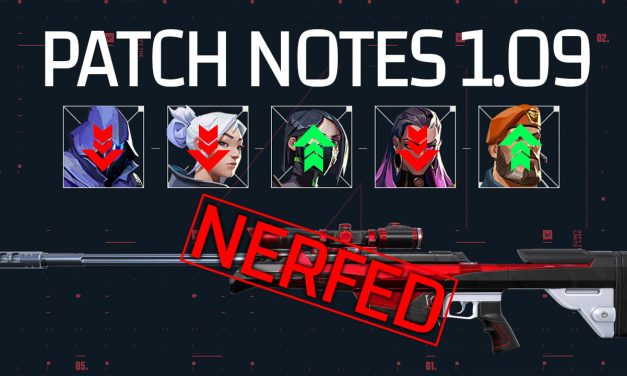 Valorant 1.09 Patch notes: Operator nerf, Agent rebalance and forced name change