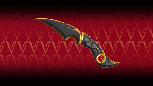Valorant Elderflame Collection knife