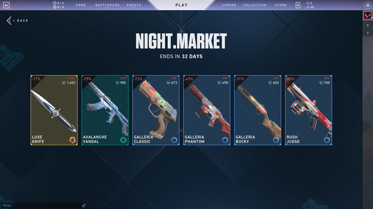 Night Market Offers