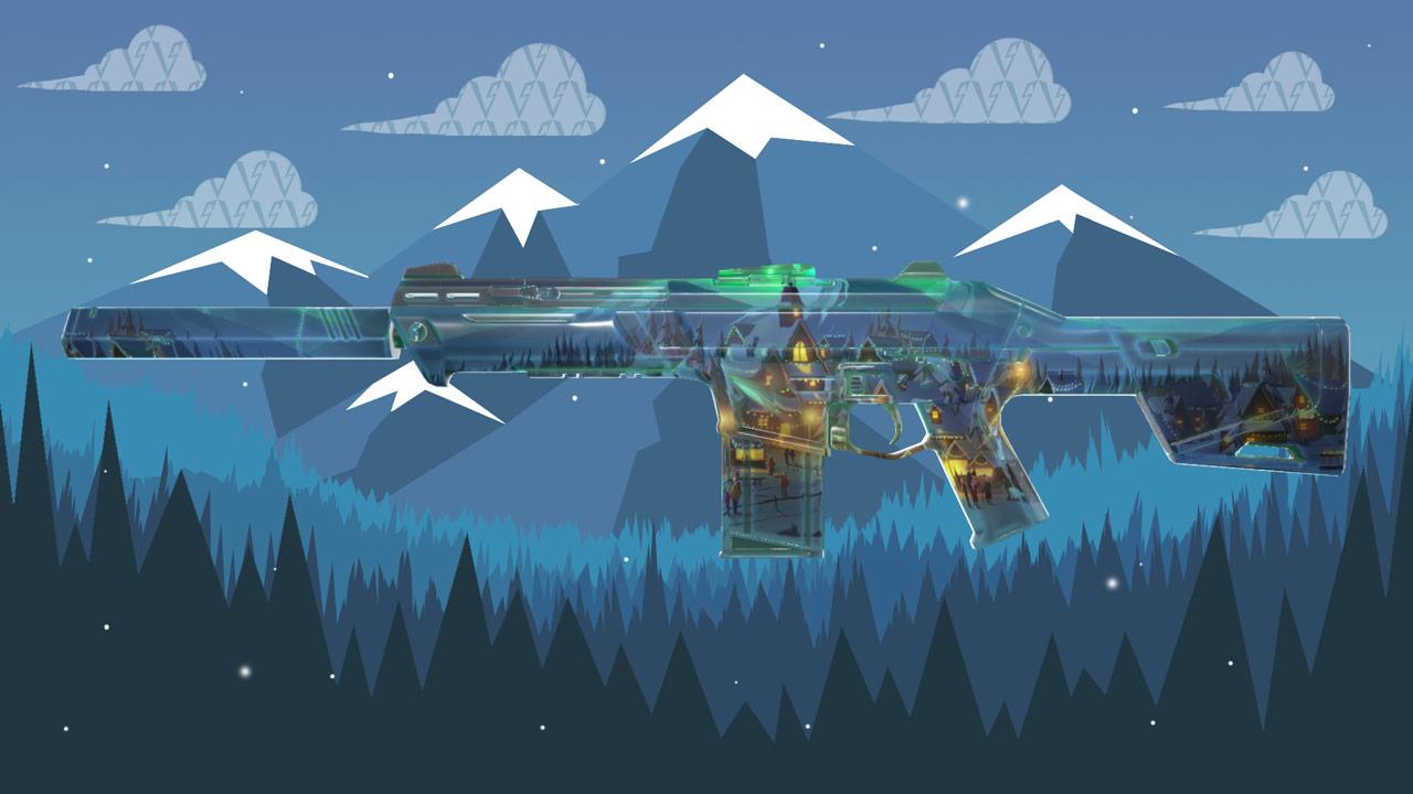 Valorant Winterwunderland Phantom