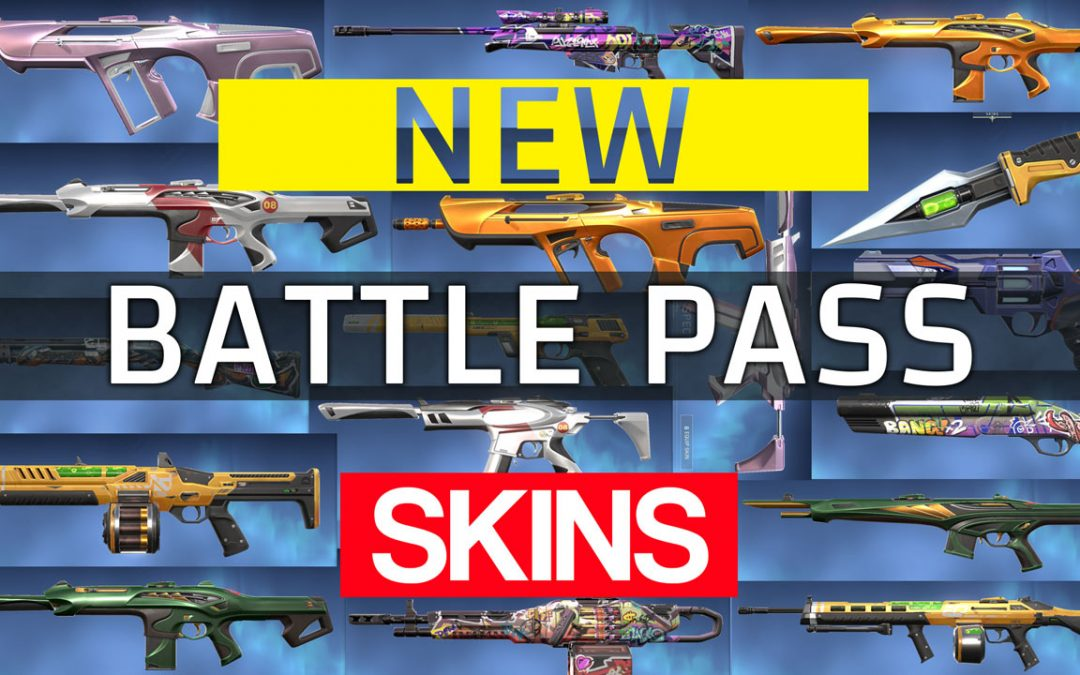 New Valorant Episode 2 Battle Pass: Formation ACT 1 skins