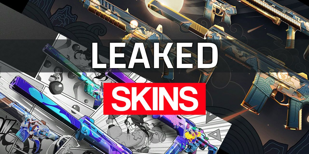 New skins leaked: Valorant Go! (anime) and Celestial skins