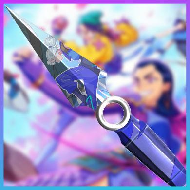 valorant go! anime knife