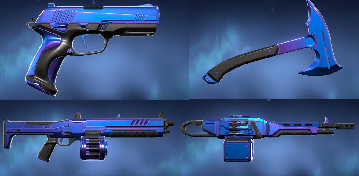 Prism III Skins