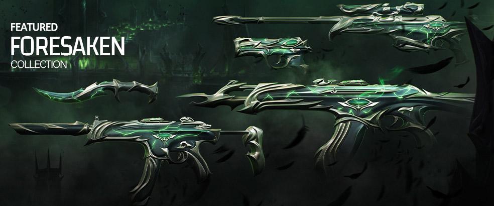 valorant forsaken skins