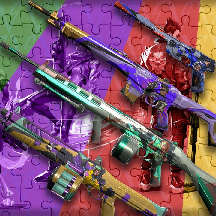 valorant jigsaw skins