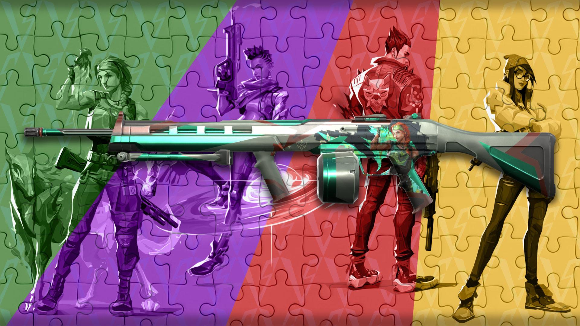Valorant jigsaw ares