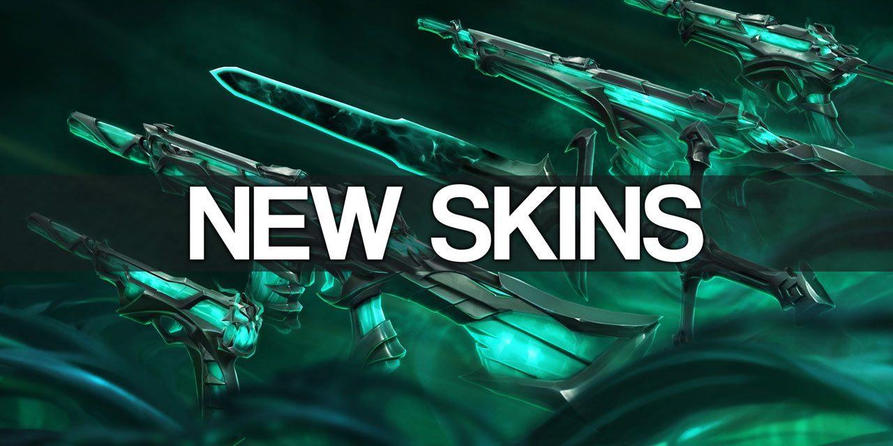 New Valorant Ruination SKins!