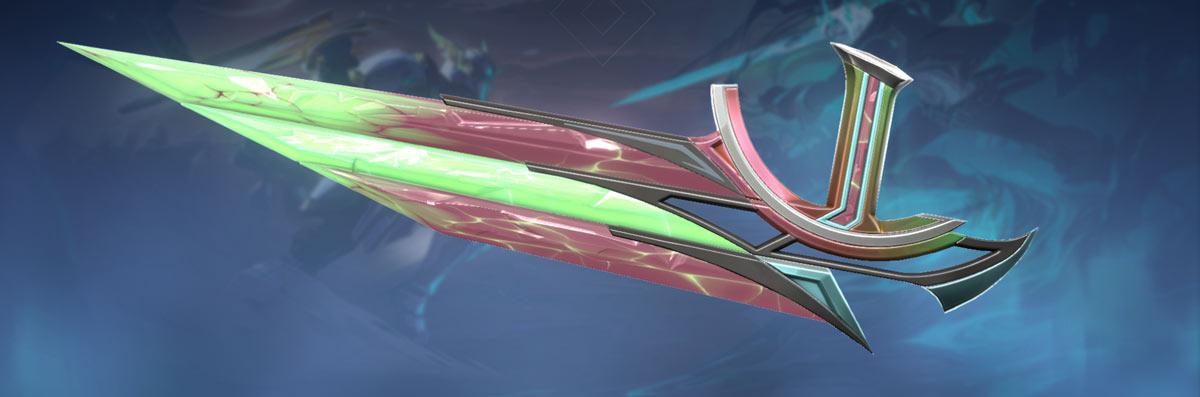 sentinels of light knife green