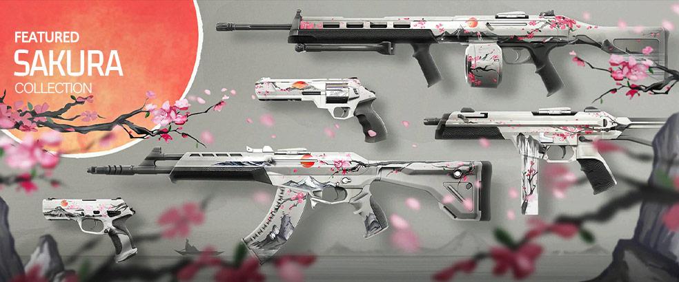 Sakura Valorant